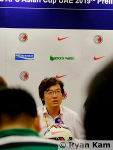 Kim Pan-Gon - Manager of the Hong Kong National Team - Ryan Kam